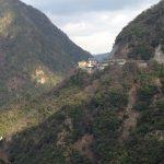 祖谷温泉の遠景