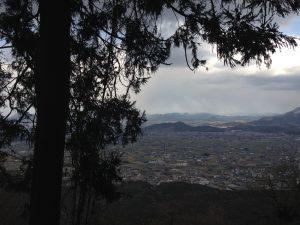 奥社からの景色
